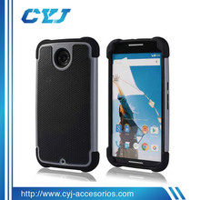 New Arrival TPU+PC+Silicone 3 IN 1 case for s6 edge with low MOQ