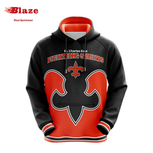 Discount blank pullover mens custom hoodies with sublimation printing