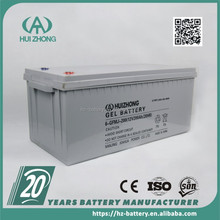Hot china products Sealed Self-Maintenance Lead-Acid 12v 250ah ups battery
