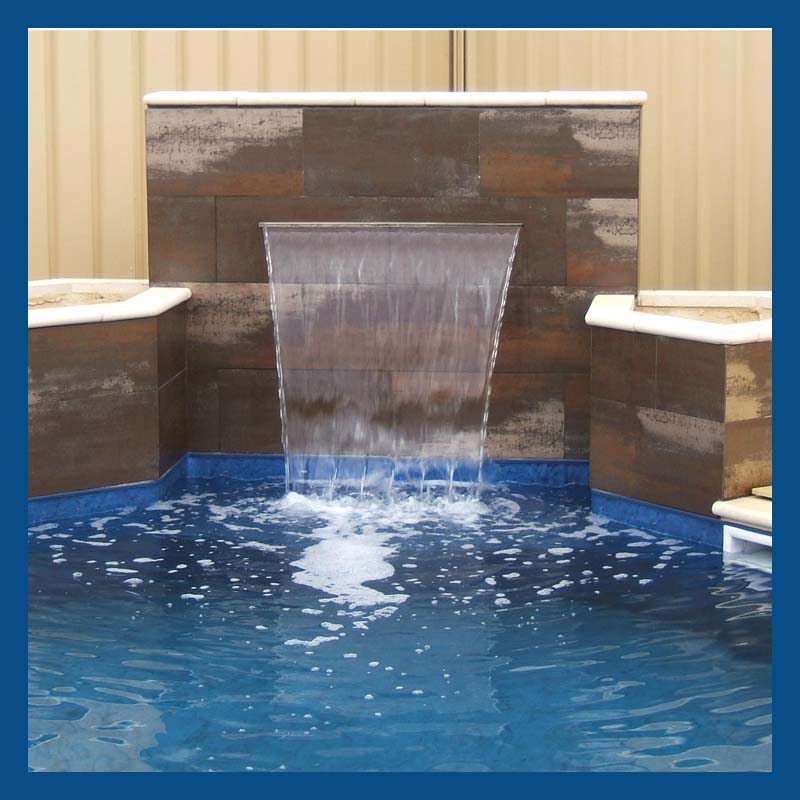 Swimming Pool Water Feature Wall Waterfall Fountain Pvc Waterblade Buy Swimming Pool Water