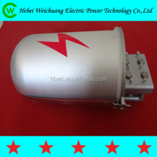 Electric power line fitting/Three port joint box for OPGW cable