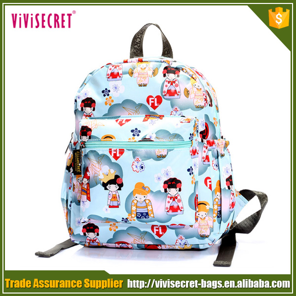 2016 new style wholesale cartoon character target school bags