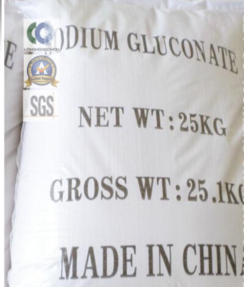 98% Min Sodium Gluconate for Food Grade/<strong>Industry</strong> Grad