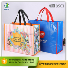 durable colorful image pp non woven shopping bag