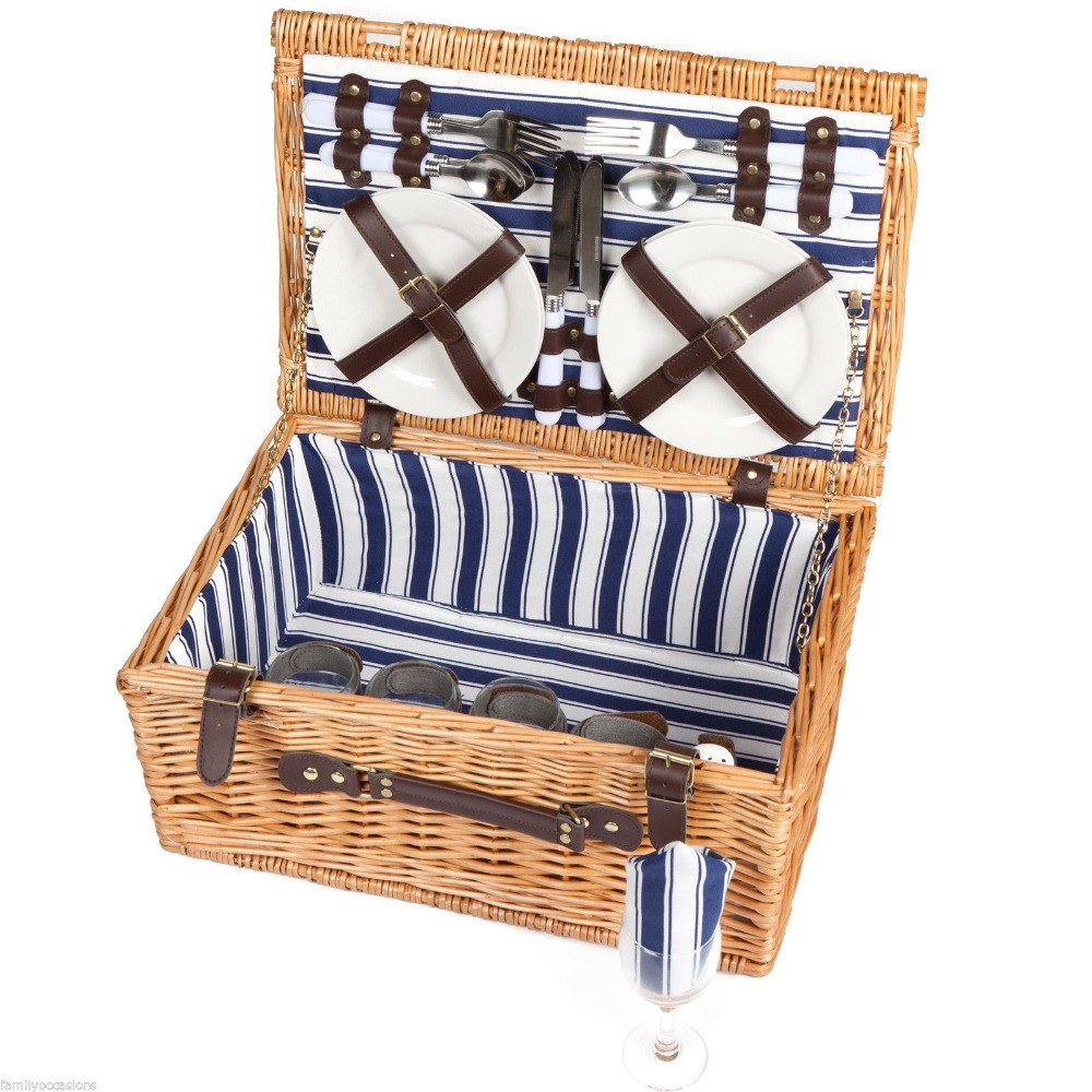 Cheap Wholesale Baby Cane Picnic Bread Small Wicker Gift Baskets