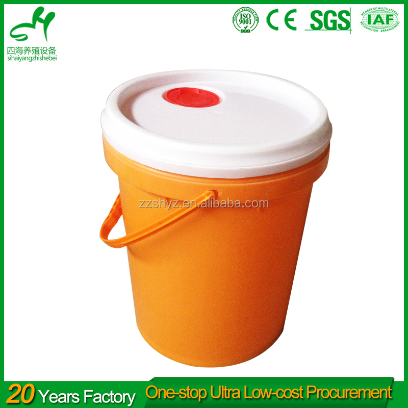 SIHAI 10 gallon plastic chemical pickle barrels