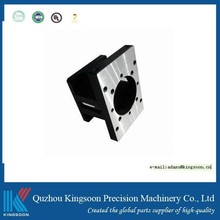 cnc turning part customized cnc machined part with black anodized finish