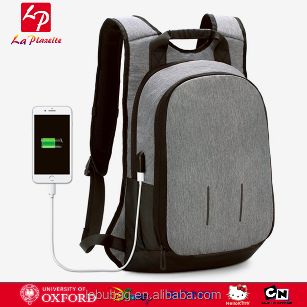 Wholesale15.6 Laptop Backpack with USB Charging Port