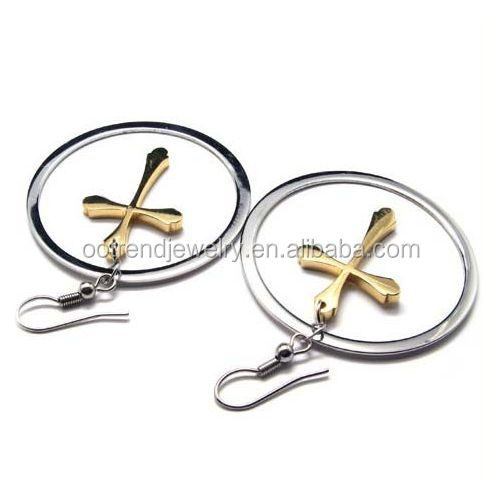 Laser cuting letter name earring to custom words sentence