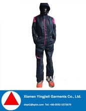 Outdoor Fashion Ski Jumpsuit Waterproof One Piece Snow Suits For Adults