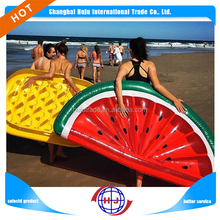 Inflatable swimming pool float watermelon mattress
