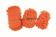 Microfiber Chenille Cleaning Sponge New Car Vehicle Care Washing Brush Sponge Pad