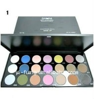 21 Colors Professional Eye Shadow Palette (1# Matte 2# Ultra Shimmer)