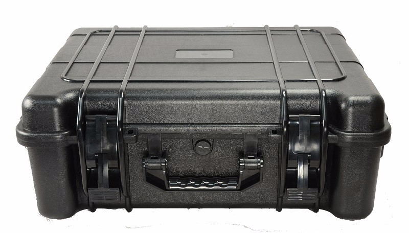 heavy duty waterproof shockproof equipment case with pre cut foam insert