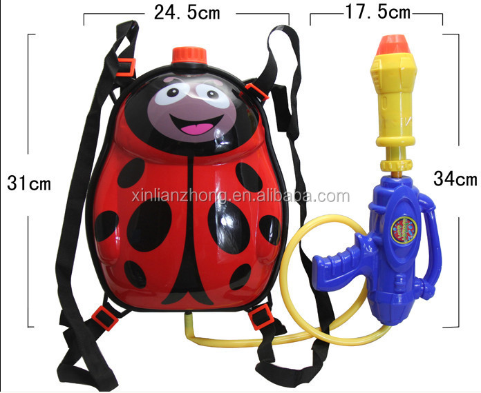 Plastic Water Gun with Water Tank Backpack water spray gun