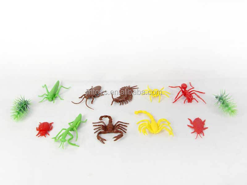 Kids Animal Toy Plastic Hexapod Set Playing Insect Scary Toy Set