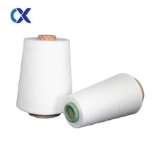 raw white polyester cotton yarn 65/35 for knitting