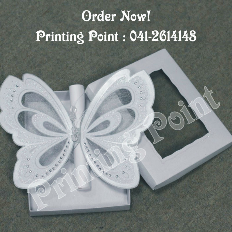 Wedding Card Butterfly