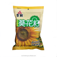 China suppliers high quality resealable sunflower seed sunflower seed kraft paper bag for food