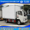 New dongfeng 5tons mini freezer truck, small refrigerated truck