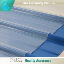 Easy And Fast Installation Spanish Fiberglass Plastic Roof Tile