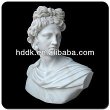 Carved Apollo Marble Bust VBS-003V
