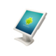 15 inch white color monitor,Wall Mount 15 inch TFT LCD PC