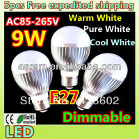 ASRAM LEDMAN 7 Watt e27 globe led bulb light with triac dimmable e27 led globe bulbs light