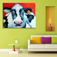 wall decoration Canvas Oil Painting interior decoration animal cattle abstract home decorate home oil painting patterns