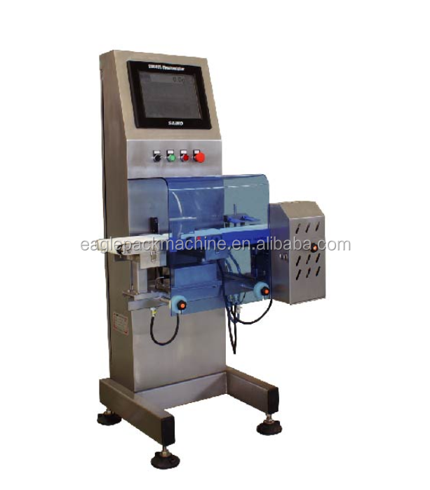 metal detectors and capsule checkweigher with check weight