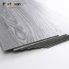 anti-bacterial glue down pvc vinyl plank floor tile for commercial usage