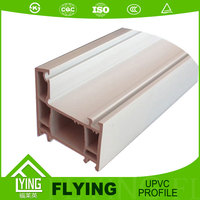 China factory upvc window profile pvc profile for windows and doors