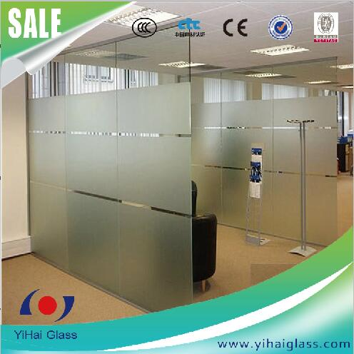 high quality 10mm tempered glass partition wall