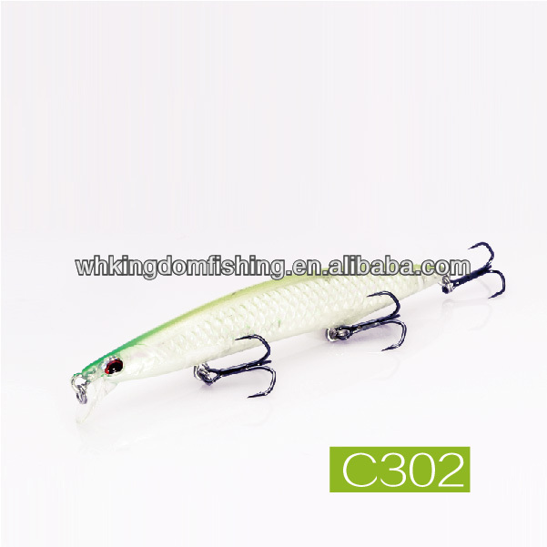 95mm/8g,125mm/20g,140mm/27g Minnow Hard Plastic Swimming Fish Lure
