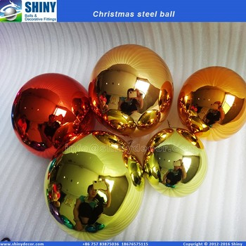 6inch steel Christmas bauble