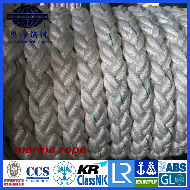 Dia. 120mm(15 inch) Double Braided pp/pe/nylon/UHMWPE braided ROPE