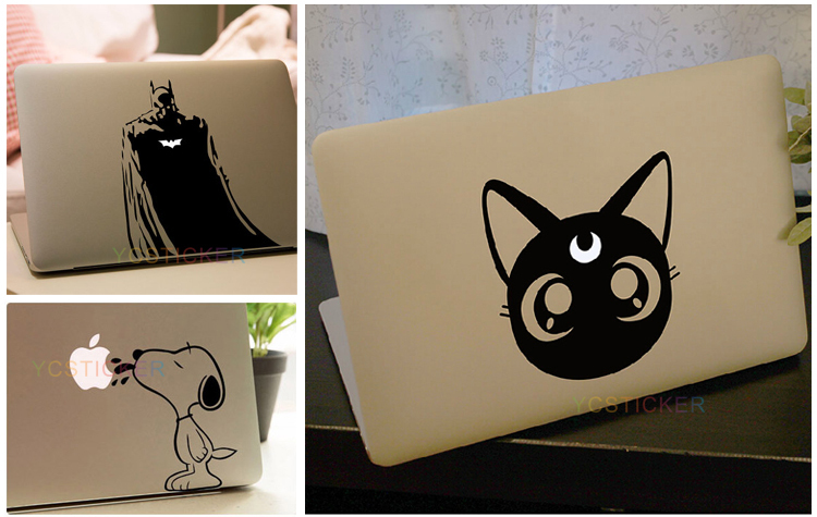 Wholesale Unique Laptop Accessories Vinyl Decals Skins for MacBook Sticker