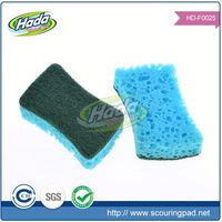 Customized rectangle shape foam cleaning sponge&scouring pad