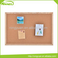 New arrival promotion corrugated cardboard backing wooden frame pin board