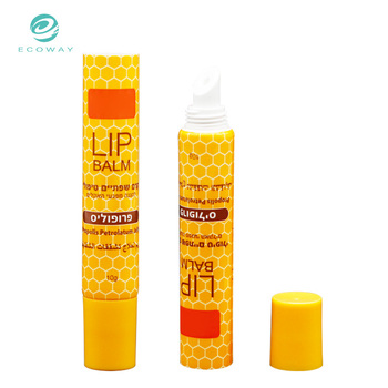 High Quality 10ml Soft Round Lip Gloss Tube Packaging