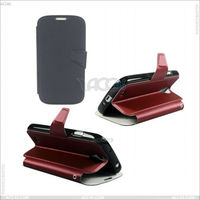 Wallet leather case Dulex cover standing for SAMSUNG GALAXY S4 /I9500 S IV IV IV /9505 /I545 P-SAMI9500CASE008