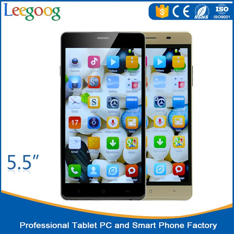 5.5 inch mtk6735 quad core new original LET 4G smart phone phone 1G RAM