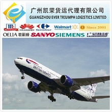 Air cargo from Guangzhou/Shenzhen/Shanghai China to Turkish