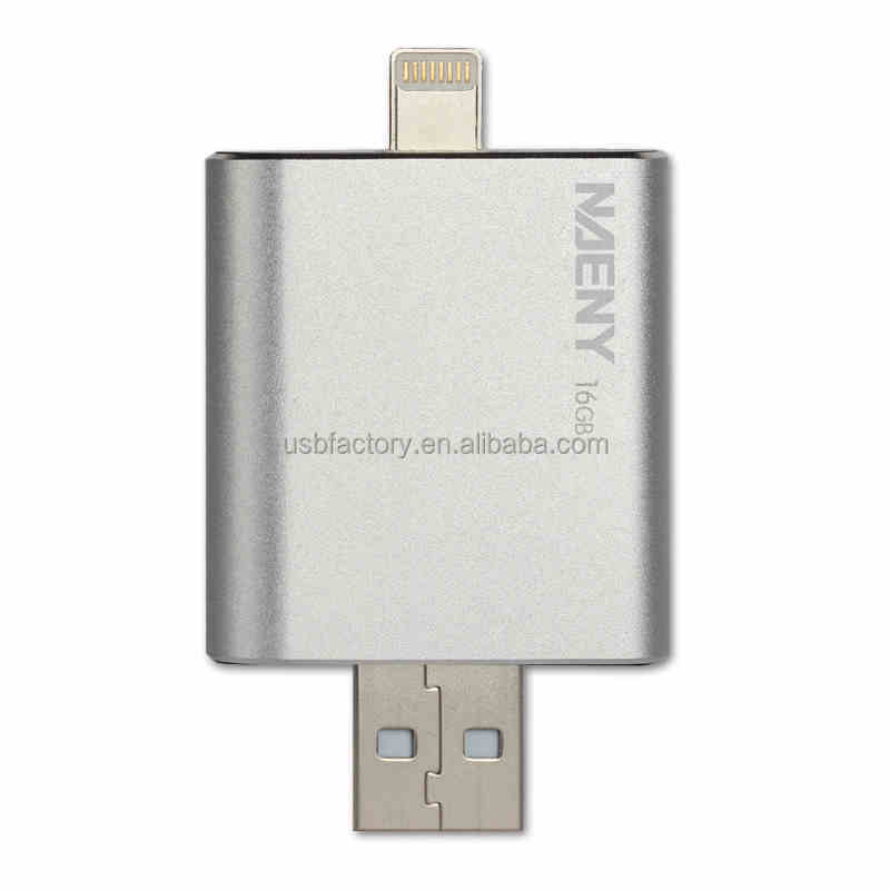 New products 2016 iflash drive mobile phone custom otg usb flash drive for iphone 5 6 6s