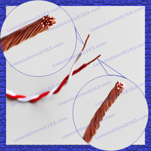 UL TUV listed 0.75mm2 PVC insulated twin RVS Twisted Electric cable