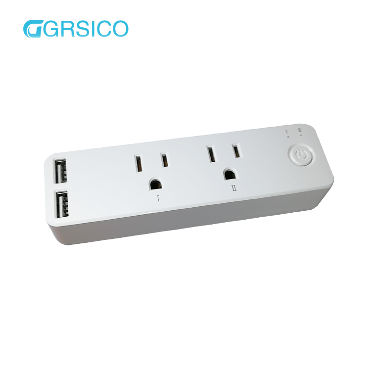 Mini Wifi Smart Socket Outlet Plug Works With Amazon Alexa/Ifttt/Google Assistant