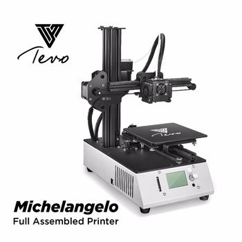 2018 New TEVO Michelangelo TEVO 3D Printer Fully Assembled 3D Printer Impresora Full Aluminum Frame Titan Extruder SD Card 3D