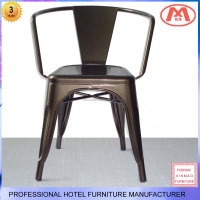 Tabouret Stacking Chair Adeco 24-inch Glossy Metal Chair Counter Bar Stool