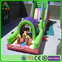 2016 giant inflatable for sale/ inflatable funcity with slide/ large slides for adults