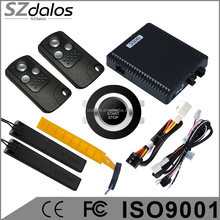 smart rfid car alarm finger start push engine start stop transponder immobilizer keyless go system